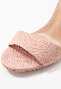 Call it Spring - DELLMAR VEGAN - Sandaler med høye hæler - light pink - 5