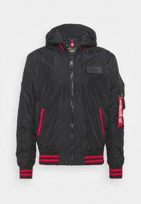 Alpha Industries - HOOD DEFENSE - Summer jacket - black - 5
