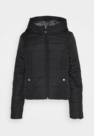 VMSIMONE HOODY SHORT JACKET - Light jacket - black