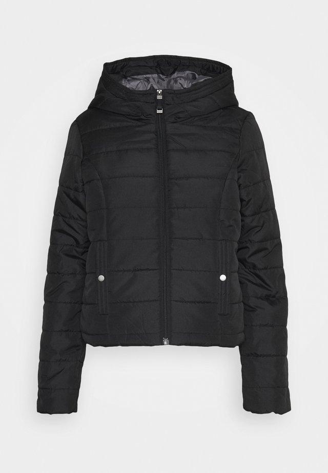 VMSIMONE HOODY SHORT JACKET - Light jacket - black