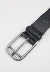 Calvin Klein - DOUBLE BAR BUCKLE - Pásek - black - 6