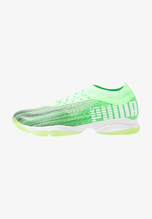 ADRENALITE 1.1 - Handball shoes - elektro green/black/white