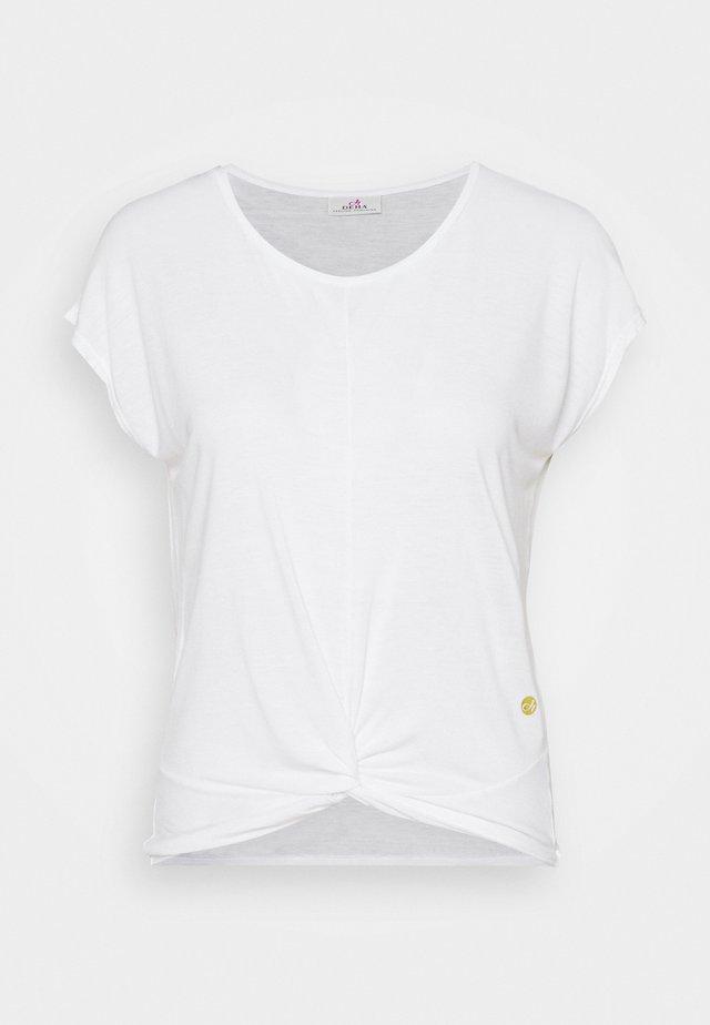 KNOT - T-shirt print - white