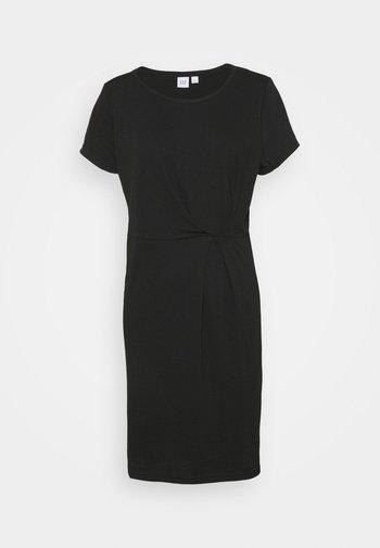 PLEAT WAIST - Day dress - true black