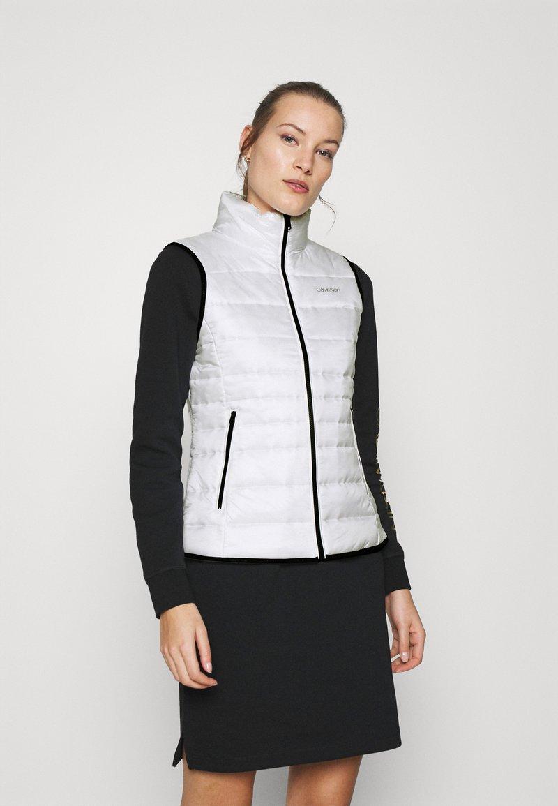 Calvin Klein - Waistcoat - offwhite