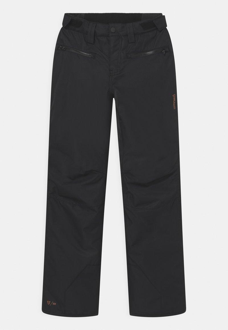 Brunotti - SILVERBIRDIE GIRLS - Snow pants - black
