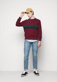 Polo Ralph Lauren - Sweatshirt - bordeaux/dark green/dark blue - 1