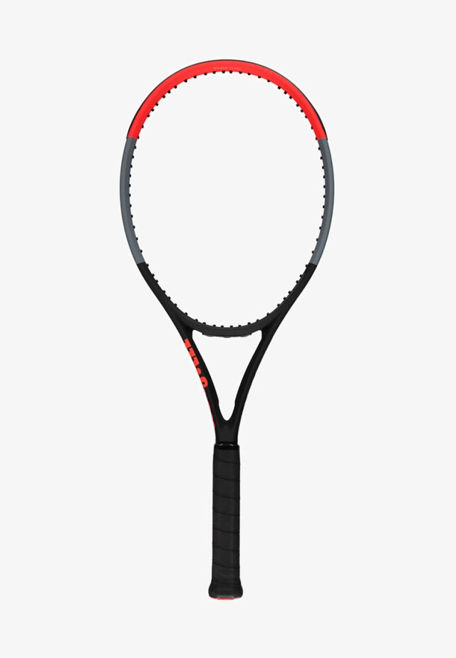 CLASH 100 TOUR - Tennis racket - black/red