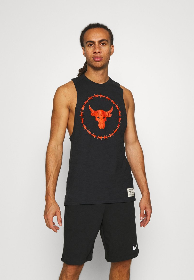 Under Armour - PROJECT ROCK TANK - Top - black
