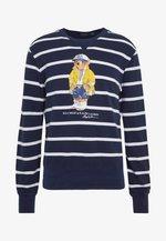 BASIC  - Sweatshirt - cruise navy/white