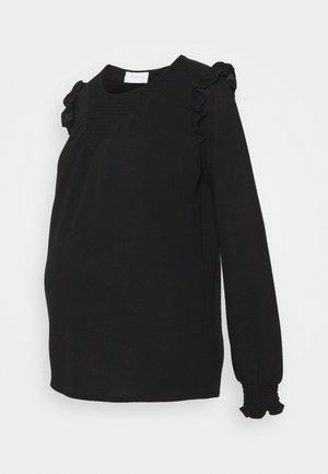MLENISE  - Long sleeved top - black