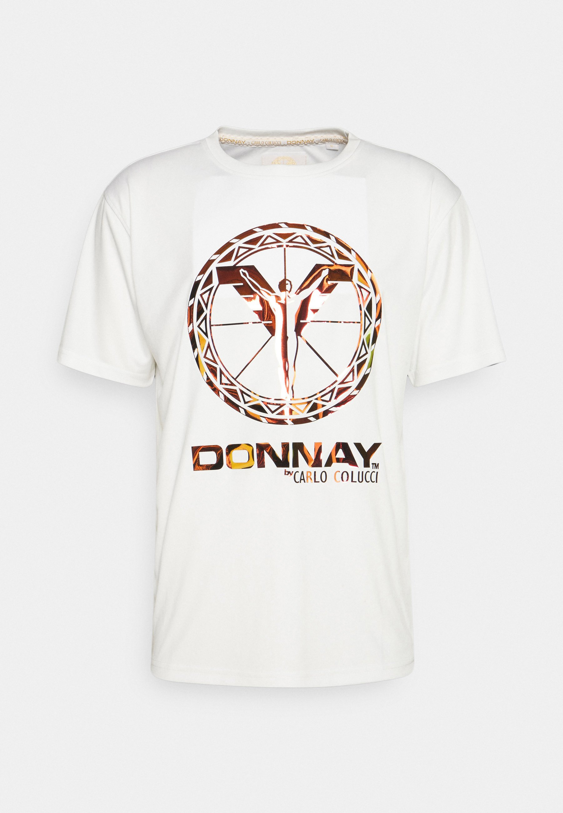 Men UNISEX - Print T-shirt - white