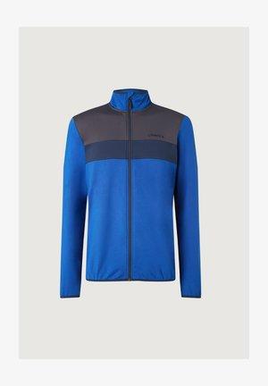 Fleece jacket - surf blue