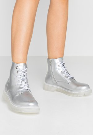 Ankle boots - silver
