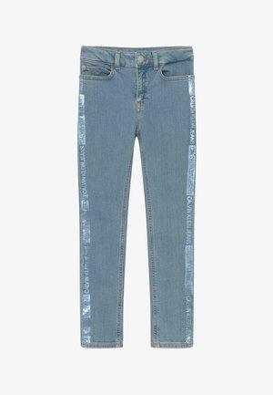PINE FOIL - Skinny džíny - denim