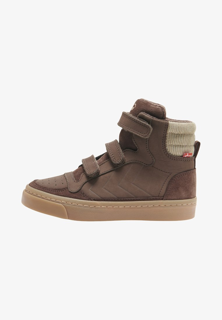 Hummel - STADIL NATURE JR - High-top trainers - chestnut