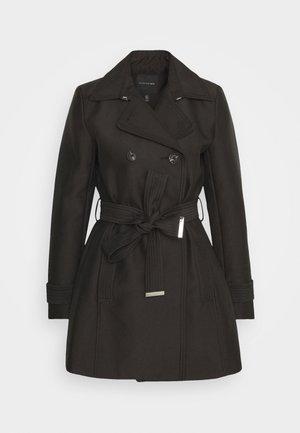 HELENA - Short coat - black