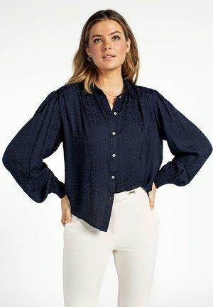 Overhemdblouse - denim blue