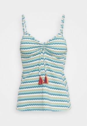 MULIA BEACH  - Bikini top - light khaki