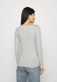 GAP - BATEAU - Long sleeved top - heather grey - 2