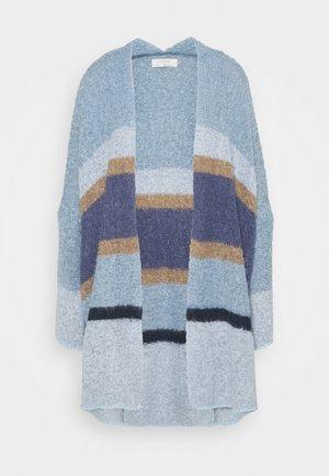 CARDIGAN - Gilet - blue/beige