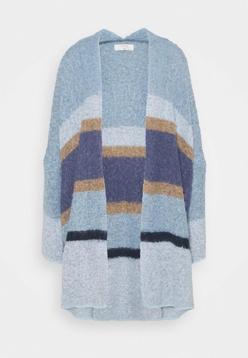 Cream - CARDIGAN - Cardigan - blue/beige