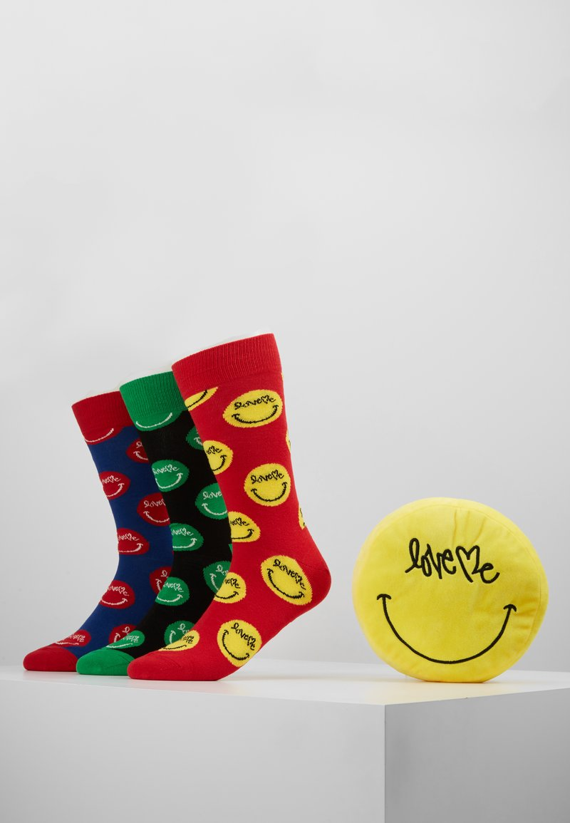 Happy Socks - CURTIS KULIG 3 PACK BOX WITH PILLOW - Calcetines - multi-coloured