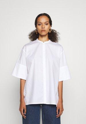 SHIRT WITH SPLITS - Tunika - white
