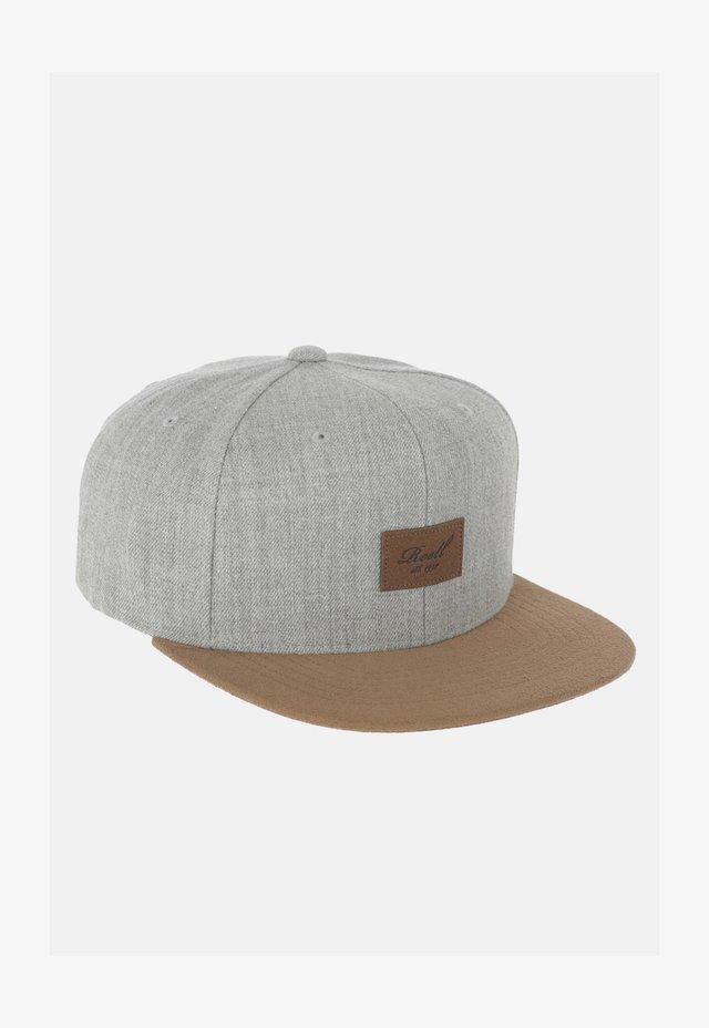 Cap -  heather light grey