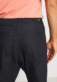 Salewa - AGNER DENIM  - Trousers - light blue jeans - 4