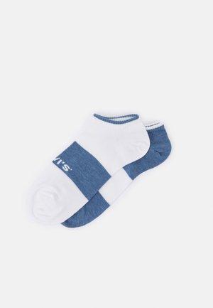 LOW CUT 2 PACK - Socks - blue/white