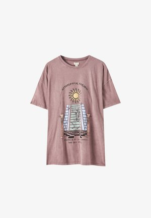 SKELETT - T-shirt print - rose