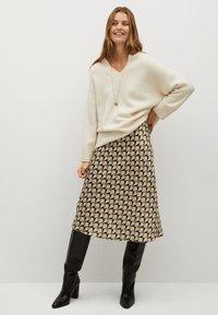 Mango - BIAS - A-line skirt - vert - 1