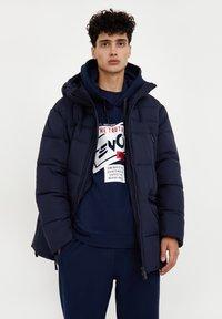 Finn Flare - Down coat - dark blue - 0