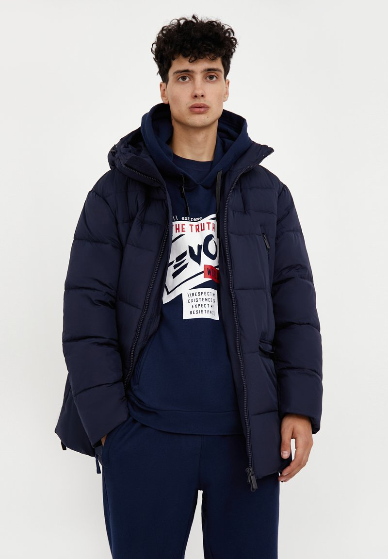Finn Flare - Down coat - dark blue