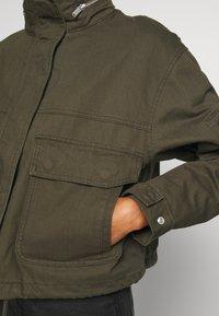 Superdry - BORA JACKET - Denim jacket - bungee cord - 6