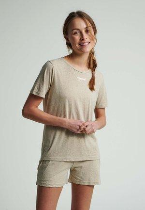 T-shirt basic - humus melange