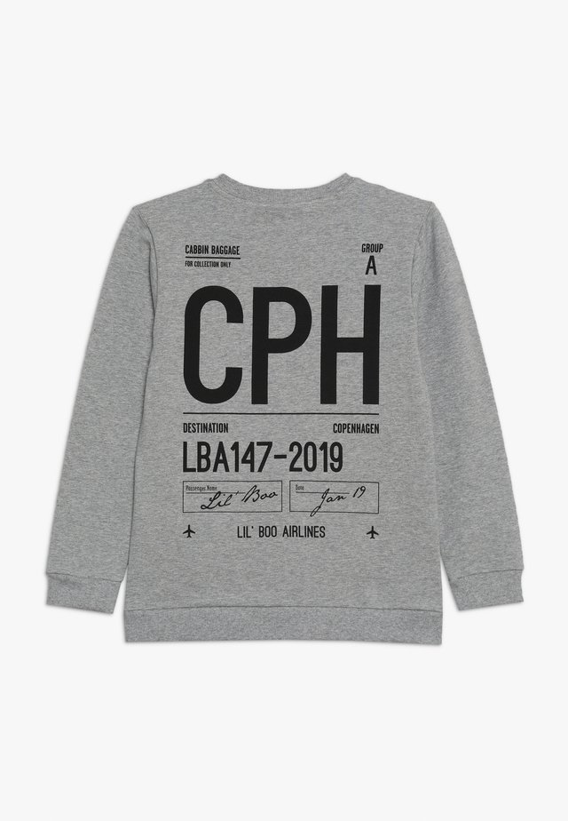 CABIN BAGAGE ONLY - Sweatshirt - light grey melange