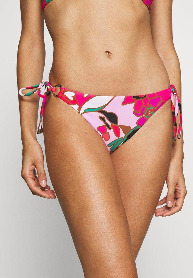 PINATA RING TIE SIDE PANT - Bikini pezzo sotto - pink