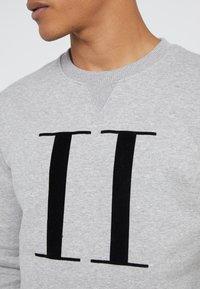 Les Deux - ENCORE - Sweatshirts - grey melange / black - 5