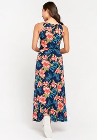 LolaLiza - WITH PRINT AND HALTER-NECK - Maxi dress - light blue - 1