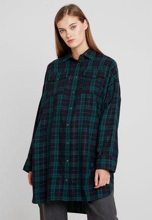 Skjortebluser - blue/green/black