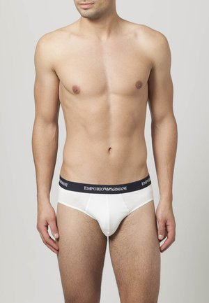 2 PACK - Briefs - white/blue