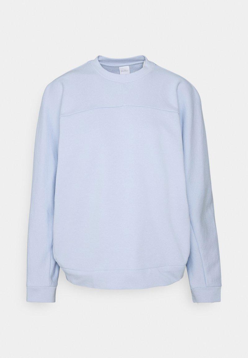 Max Mara Leisure - FRINE - Sweatshirt - azurblau