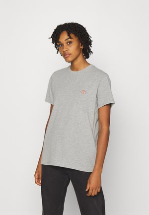 MAPLETON TEE - T-shirts - grey melange