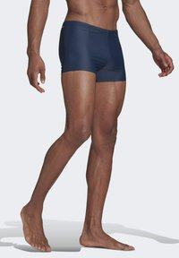 adidas Performance - SEMI 3-STRIPES  - Swimming trunks - blue - 2
