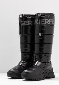 KARL LAGERFELD - QUEST BOOT - Vinterstøvler - black - 4