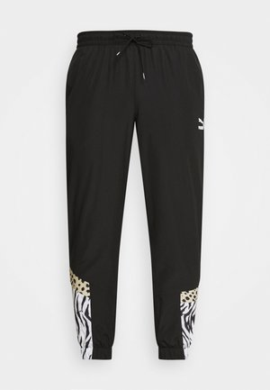 CLASSICS GRAPHICS PANTS - Tracksuit bottoms - black/white