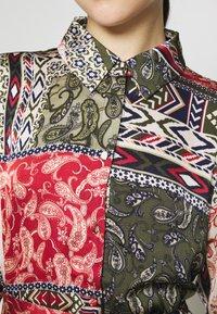 Vila - VIJOSE BLUME DRESS - Shirt dress - pine grove - 5