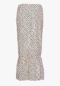 Missguided - DALMATIAN PRINT RUCHED MIDI SKIRT - Pencil skirt - nude - 1